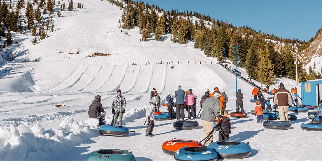 Tubing at Sasquatch Mountain Resort