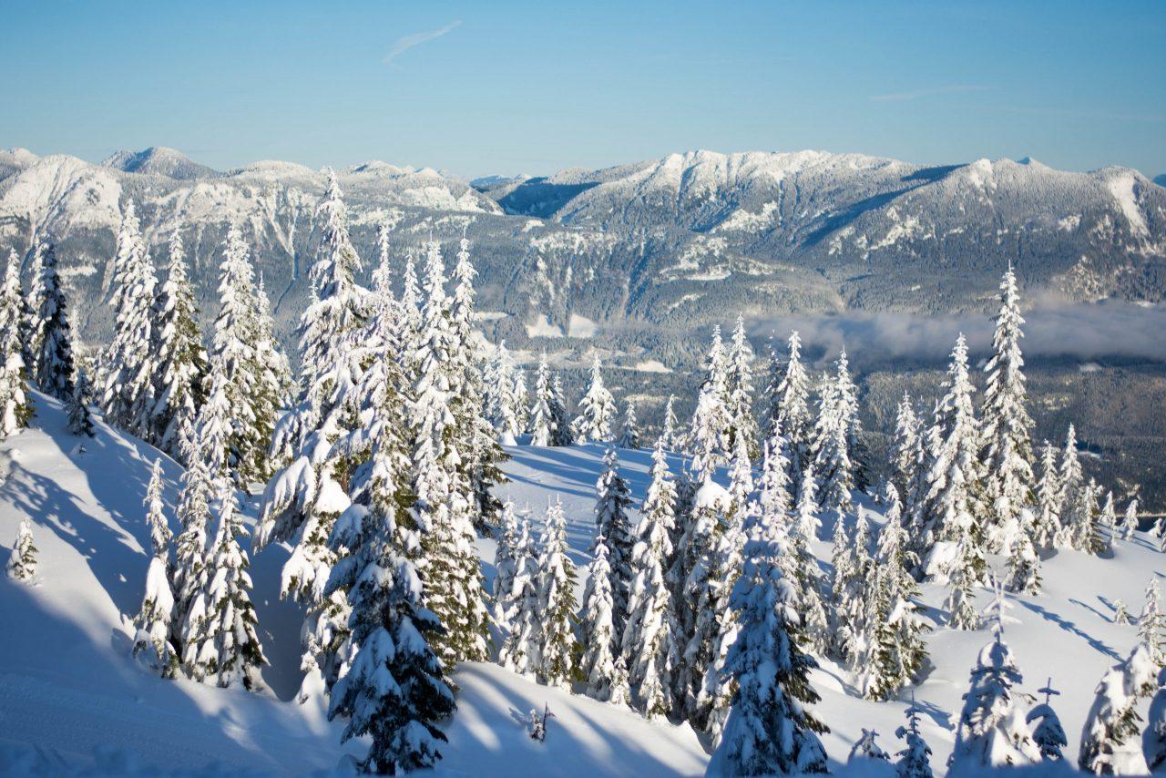 Mountain views at Sasquatch Mountain