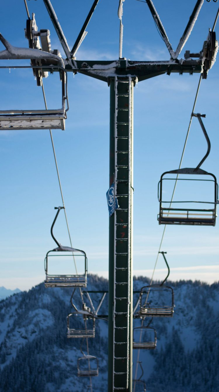 Chairlift at Sasquatch Mountain