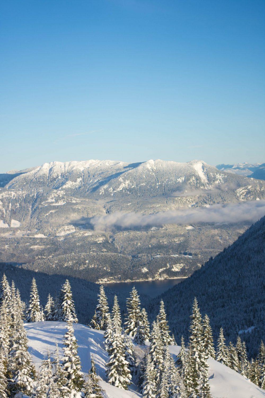 beautiful mountain views at Sasquatch Mountain