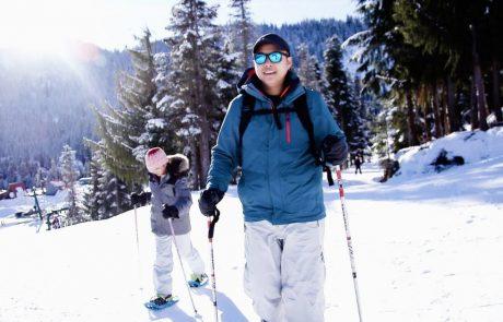 Snowshoeing at Sasquatch Mountain Resort