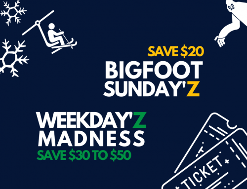 Weekday'z Madness & Bigfoot Sunday'z Offers Confirmed