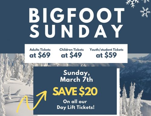 Bigfoot Sunday Offer