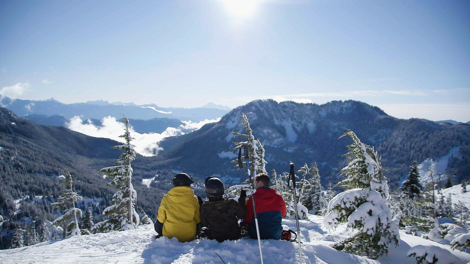 Mountain Views at Sasquatch