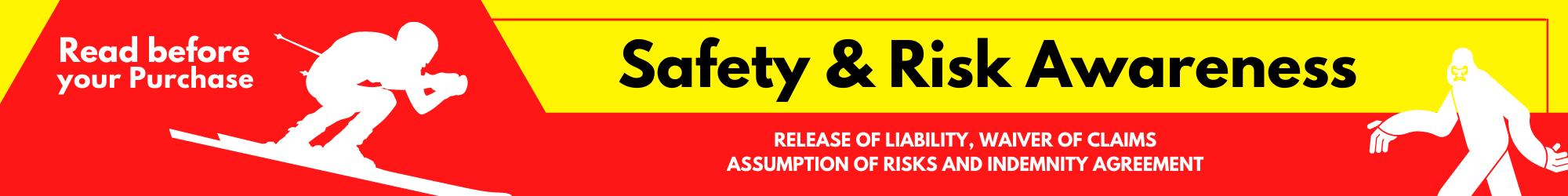 Safety & Risk Awareness Banner