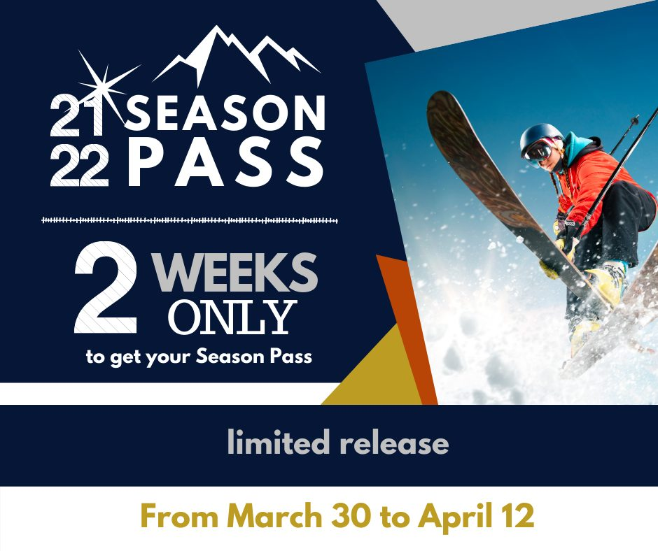 Season Pass Sale Opening to General Public