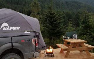 Camping at Sasquatch Mountain Resort
