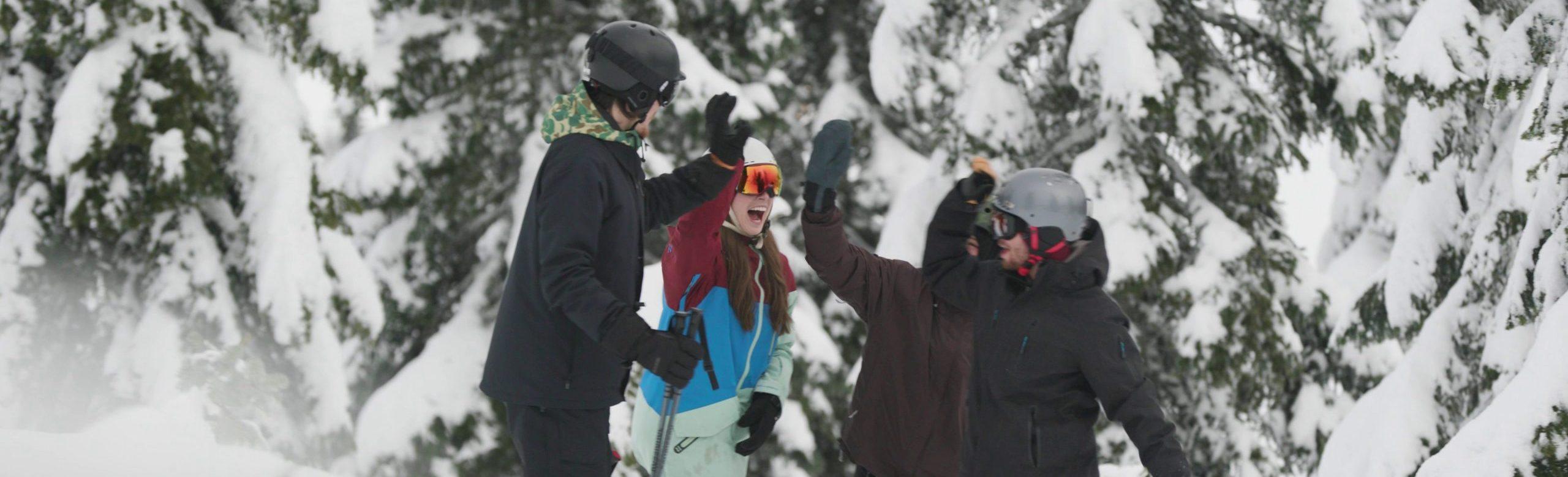 Group at Sasquatch Mountain Resort