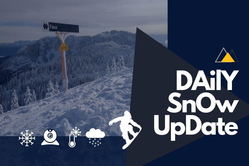Daily Snow Updates Snow Report at Sasquatch Mountain Resort